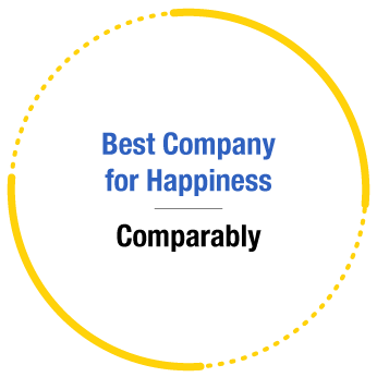 ERG Recognition - Comparably's Best Company for Happiness