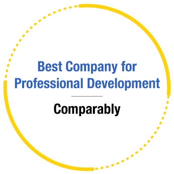 ERG Recognition - Comparably's Best Company for Professional Development