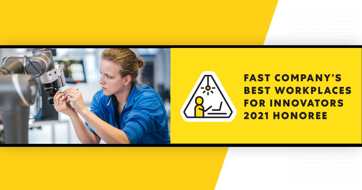 Fast Company's Best Workplaces for Innovators List for Second Year