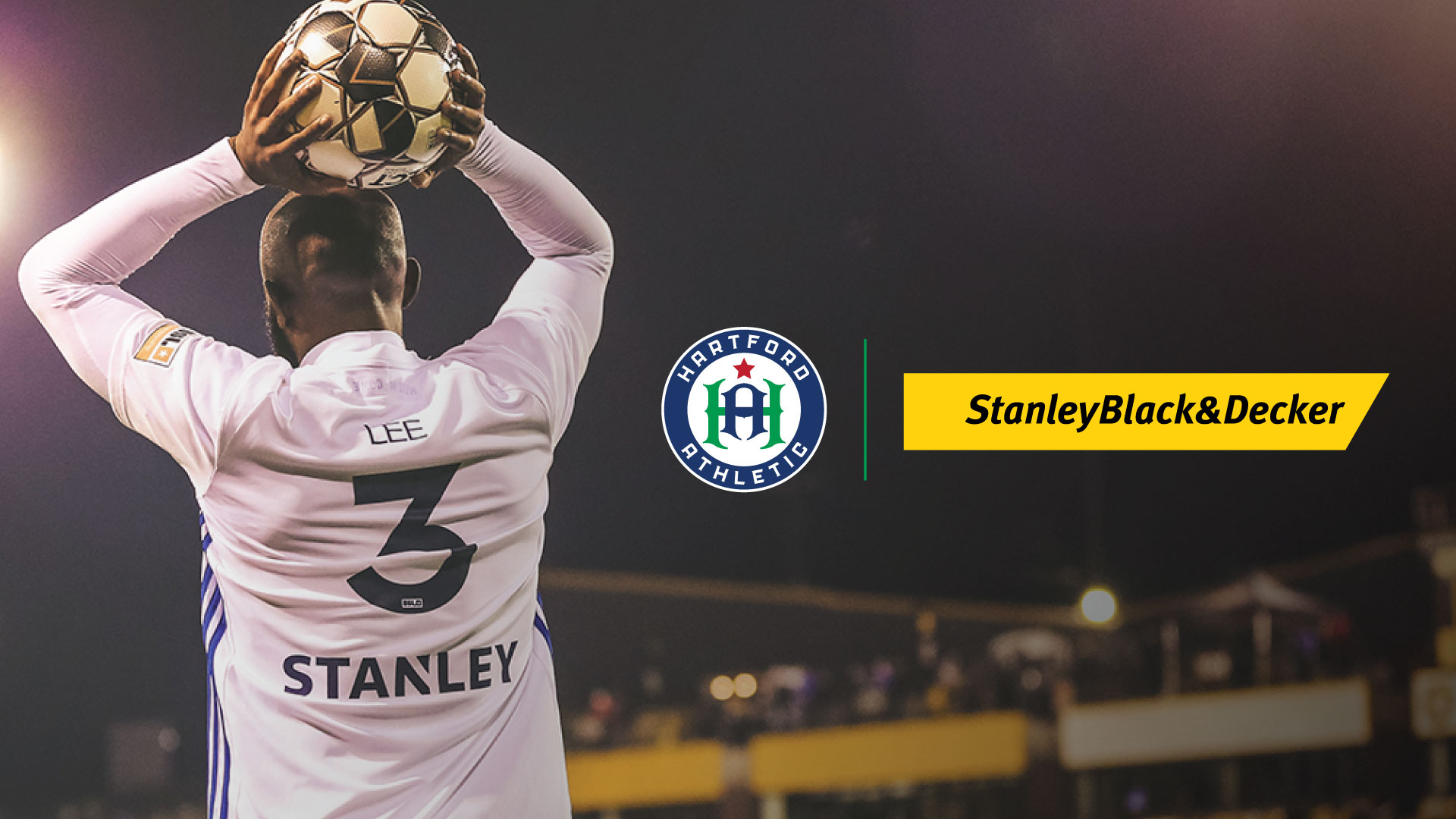 Hartford Athletic Announces Stanley Black & Decker as Founding Partner