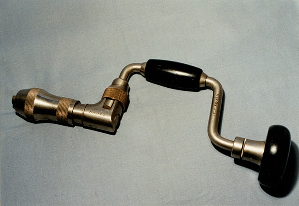 Ratchet braces by Stanley Rule and Level in 1909