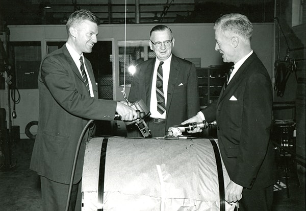 Air-powered tools in 1961