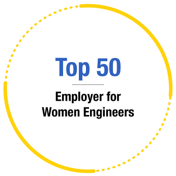 Recognition - Top 50 Employer for Women Engineer