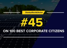 #45 on 100 Best Corporate Citizens