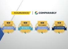 Stanley Black & Decker Wins Four Comparably Awards