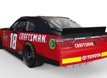 CRAFTSMAN, Joe Gibbs Racing No. 18 Toyota Camry