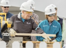 Supporting Habitat for Humanity's 2017 Jimmy & Rosalynn Carter Work Project