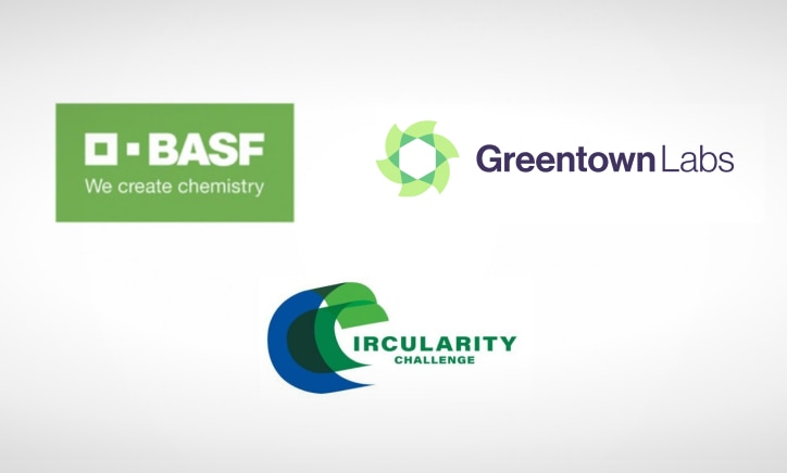 co-branded basf, greentown labs circularity challenge logo