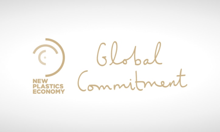 new plastics economy global commitment logo